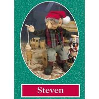 "10.5"" Zims The Elves Themselves Steven Collectible Christmas Elf Figure - multi"