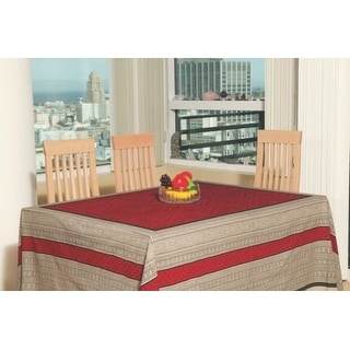 Vegetable Dye Tapestry w/Fringes Throw Tablecloth Spread Wall hang Twin Gorgeous