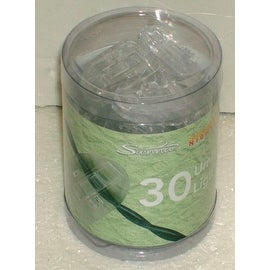 Sienna AYS06S14 Umbrella Plastic Light Clip, 30 Count