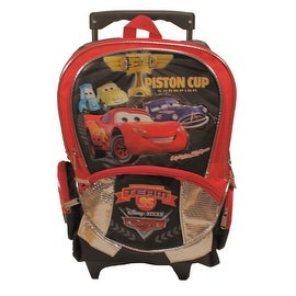 Disney Pixar Cars Large Rolling School Backpack
