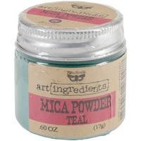 Finnabair Art Ingredients Mica Powder .6oz-Teal