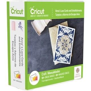 Cricut Shape Cartridge-Anna Griffin Lace Cards & Embellishments