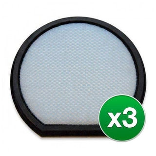 Replacement Vacuum Filter for Hoover CH53010 Vacuum Model (3-Pack) - Anti Allergen Type