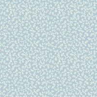 York Wallcoverings WP2516 Waverly Small Prints Arbor Trail Wallpaper - Chambray Blue/White - N/A