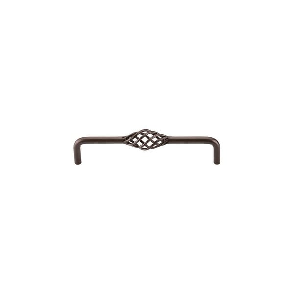 """Top Knobs M782 Twist 6"""" Center to Center Birdcage Cabinet Pull from the Normandy Series - Oil Rubbed bronze - n/a"""