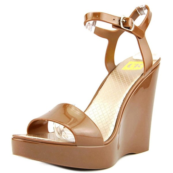 Cape Robbin Armand-O-MB-1 Women  Open Toe Synthetic  Wedge Sandal