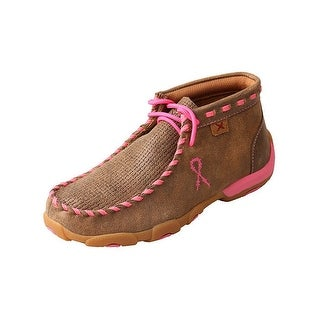 Twisted X Western Shoes Girls Kids Tough Mocs Casual Bomber YDM0026