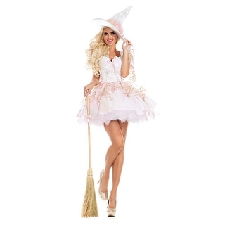 White Magic Witch Costume