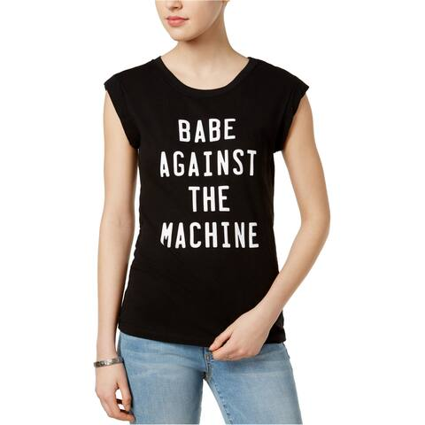 Chrldr Womens Babe Against Graphic T-Shirt