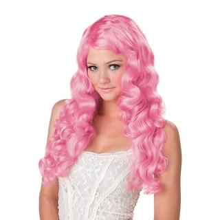 California Costumes Sweet Tart Costume Wig (Lilac) - Pink