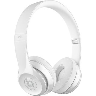 Beats by Dr. Dre - Beats Solo 3 Wireless Headphones Gloss white