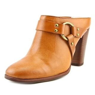 Frye Laurie Harness Mule Women Round Toe Leather Mules