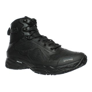 Magnum Mens Opus Mid Black Military Boots Size 8.5