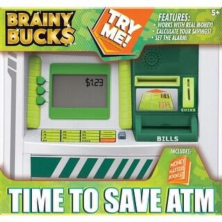 Brainy Bucks Time To Save Atm -