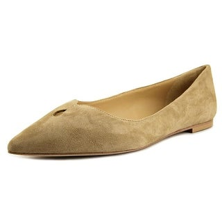 Sam Edelman Ruby Women  Pointed Toe Suede Tan Flats