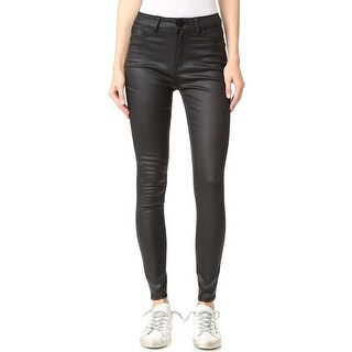 DL1961 Jessica Alba No. 1 Trimtone High Waist Skinny Jeans Pants