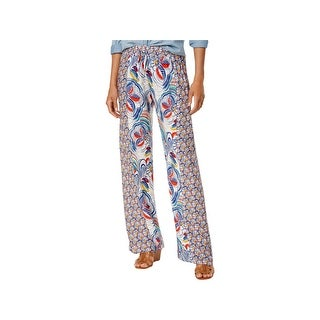 Be Bop Womens Juniors Casual Pants Printed Pull On