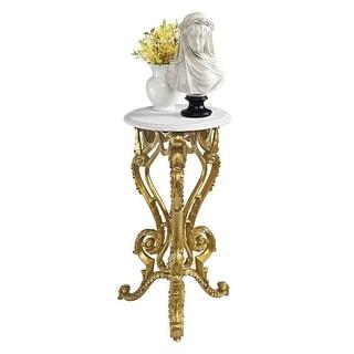 Design Toscano Palace of Versailles Petite Accent Pedestal Table