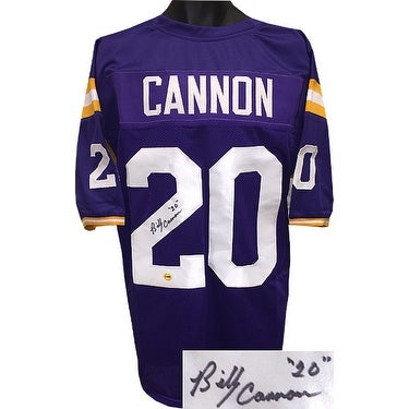 34e40c90f5e Shop Billy Cannon signed Purple TB Custom Stitched College Football Jersey  20 XL - Free Shipping Today - Overstock.com - 19873201
