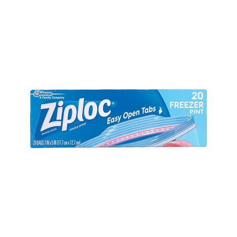 Ziploc Pint Ziploc Freezer Bag