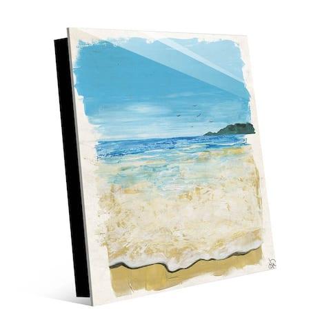 Kathy Ireland The Sound Of Waves Seascape on Acrylic Wall Art Print