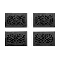 4 Floor Heat Register Louver Vent Victorian Cast 6 x 12 Duct |Renovator's Supply