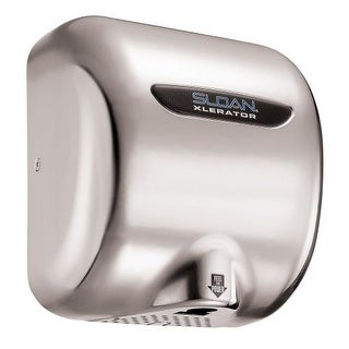 Sloan EHD-502 Xlerator Model Ultra-fast, Sensor Activated Hand Dryer for surface mounting. 220/240 VAC, 6.5 Amp