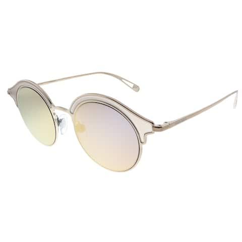 Giorgio Armani AR 6071 30114Z Unisex Turtledove Bronze Frame Brown Gradient Lens Sunglasses