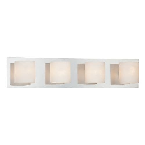 """Eurofase Lighting 20380 4 Light 5.5""""H Bathroom Sconce from the Geos Collection"""