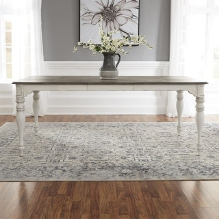 Link to Magnolia Manor Antique White Leg Table Similar Items in Dining Room & Bar Furniture