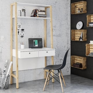 Link to Boahaus Bangkok Desk with Hutch Similar Items in Desks & Computer Tables