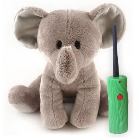 Battery Powered Hide and Seek Safari Jr, in Elephant
