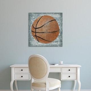 Easy Art Prints Studio W's 'Grunge Sporting I' Premium Canvas Art
