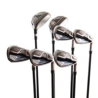 New Cobra Fly-Z XL Iron Set 5H,6H,7i-PW,GW Senior Flex 60g Graphite RH