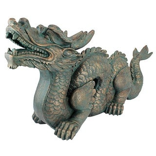 Design Toscano Asian Dragon of the Great Wall Statue: Large