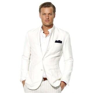 Polo Ralph Lauren Mens Classic Fit Abrahams Sportcoat 44 Regular White Jacket