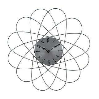 20 Inch Diameter Metal Galaxy Wall Clock