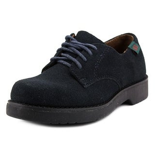 School Issue Semester Youth Round Toe Synthetic Blue Oxford
