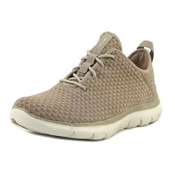 Skechers Flex Appeal 2.0-Bold Move Women Round Toe Canvas Sneakers
