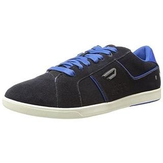 Diesel Mens Eastcop Gotcha Leather Laces Fashion Sneakers - 10 medium (d)
