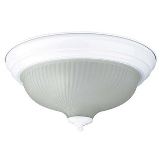 "Sunset Lighting F7513 2 Light 120 Watt 14"" Wide Flush Mount Ceiling Fixture"