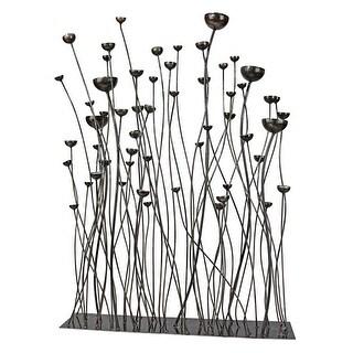 PRAIRIE GRASSES METAL SCULPTURE DESIGN TOSCANO prairie grass sculpture