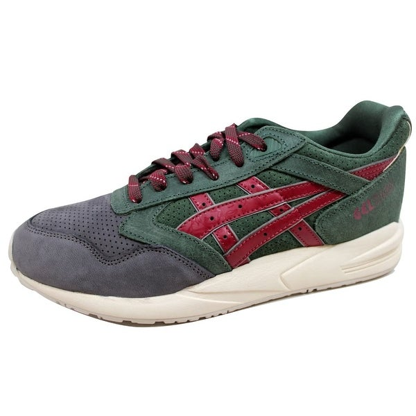Asics Men's Gel Saga Dark Green/Burgundy Christmas Tree H41VK 8026 Size 11.5