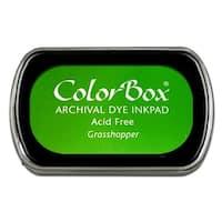 ColorBox Archival Dye Ink Pad Full Sz Grasshopper