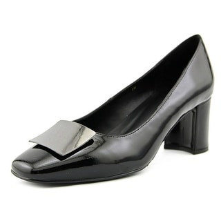 Vaneli Eara Women  Square Toe Synthetic Black Heels