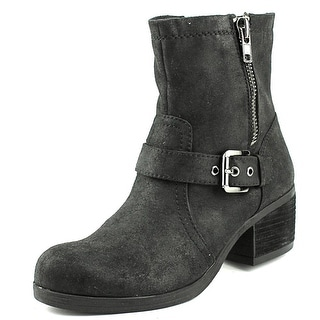 Carlos by Carlos Santana Rolla Round Toe Canvas Ankle Boot