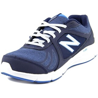 New Balance WW496 Women 2A Round Toe Synthetic Blue Walking Shoe