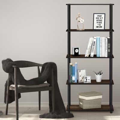 Furinno Turn-N-Tube 5-tier Multipurpose Display Rack Shelf