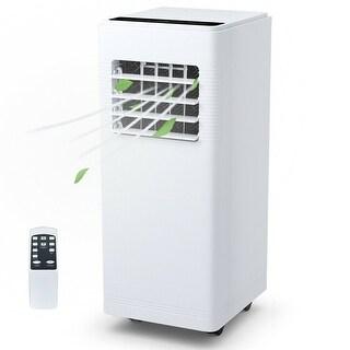 Costway 12000BTU Electric Portable Air Cooler Dehumidify Cool Fan W/