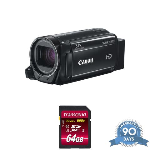 Canon VIXIA HF R800 Camcorder (Black) - with Memory Card -